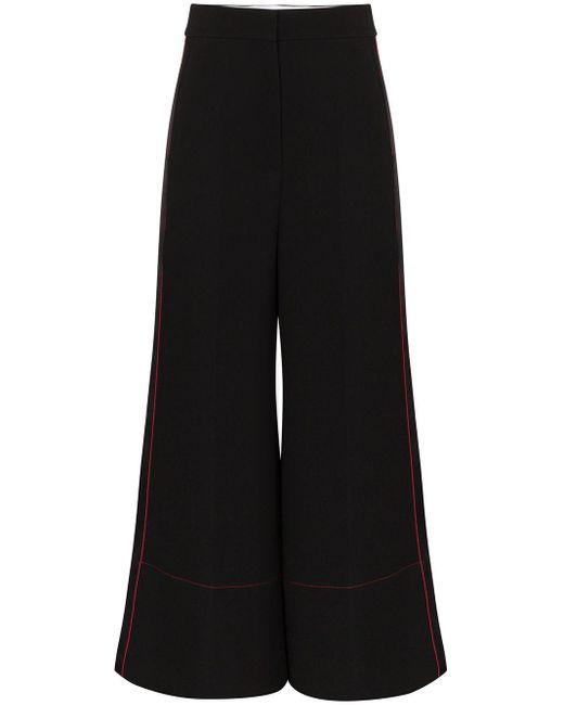 Roksanda クロップド ワイドパンツ Black