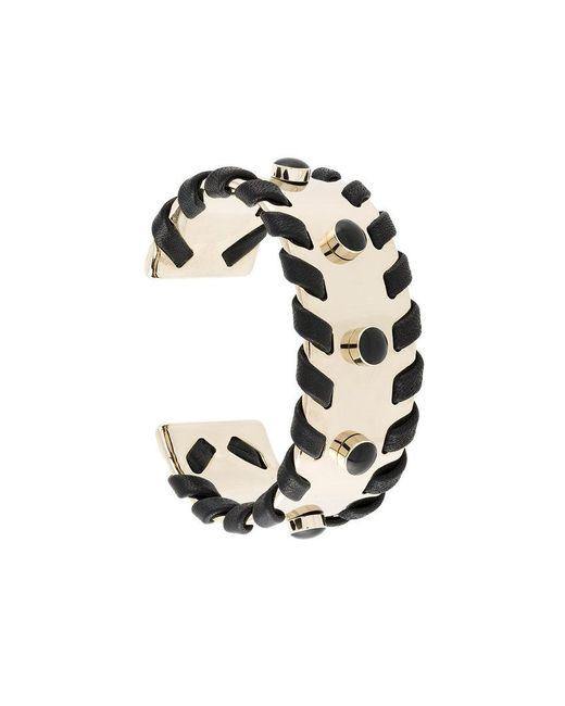 Tod's - Metallic Cuff Bracelet - Lyst