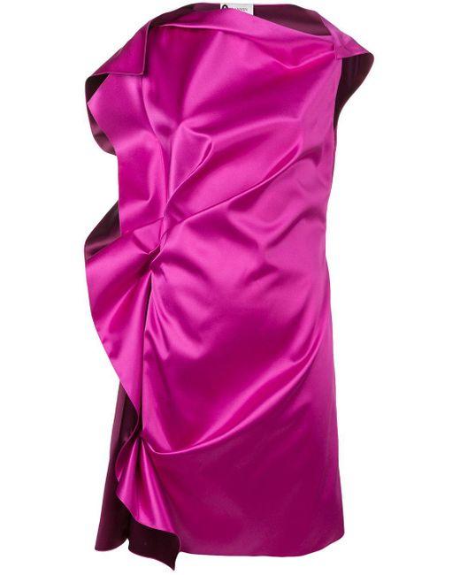 Lanvin ギャザードレス Pink