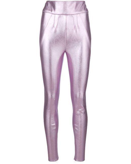 1017 ALYX 9SM メタリックレギンス Purple
