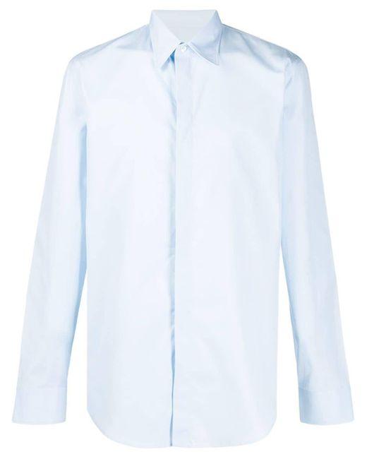 メンズ Maison Margiela テーラード シャツ Blue
