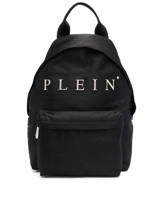 Рюкзак Zaino Iconic Plein Philipp Plein для него, цвет: Black