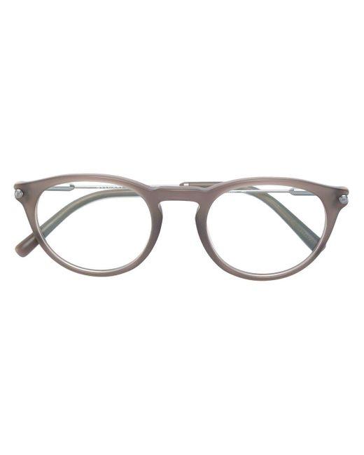 メンズ BVLGARI オーバル眼鏡フレーム Multicolor