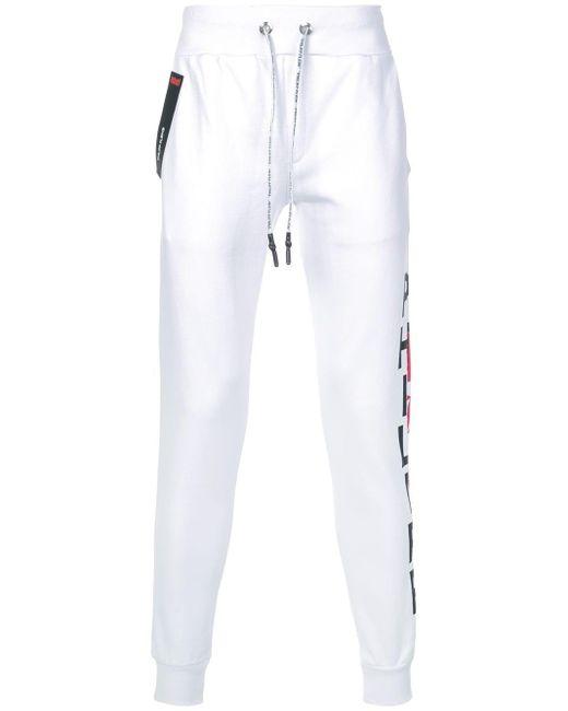Philipp Plein Schmale Jogginghose in White für Herren