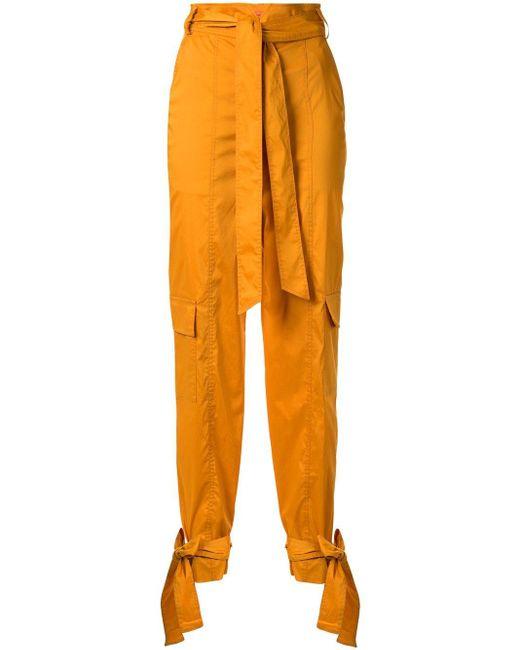 Manning Cartell ハイウエストパンツ Yellow