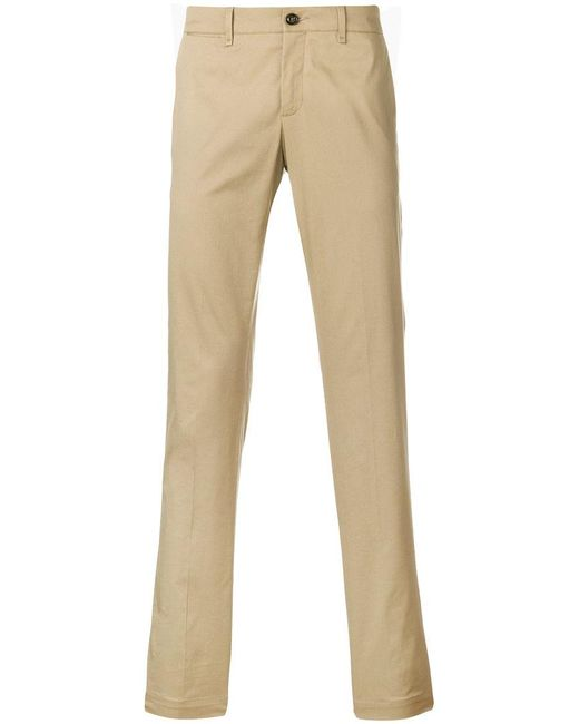 Moncler - Natural Slim-fit Tailored Trousers for Men - Lyst