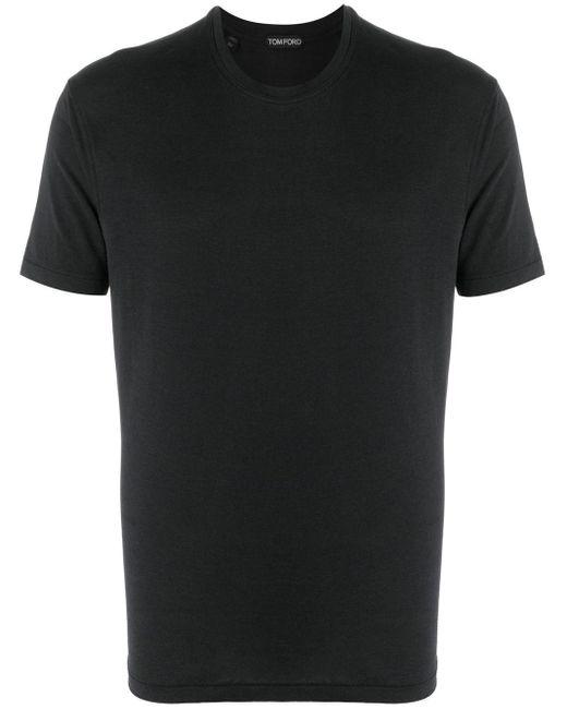 メンズ Tom Ford クルーネック Tシャツ Black