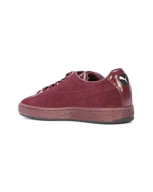 ... PUMA - Red Suede Classic X Mac Sneakers - Lyst ... 8b0197f6d