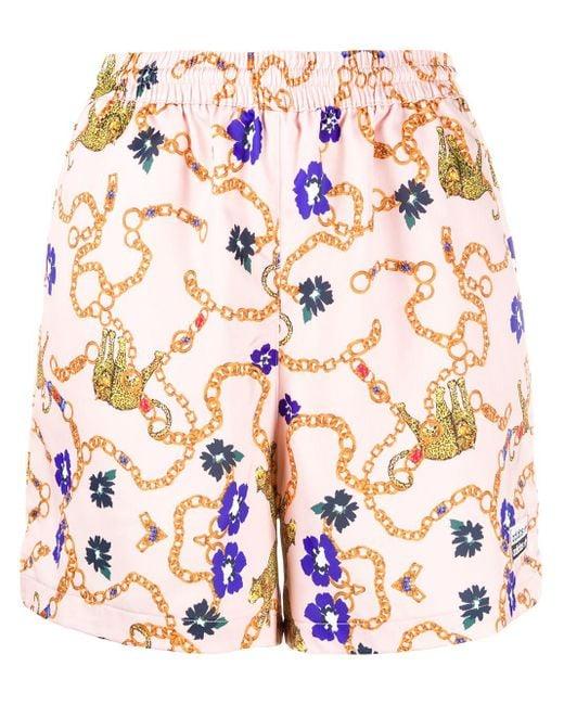Adidas Her Studio London バロックプリント パンツ Pink