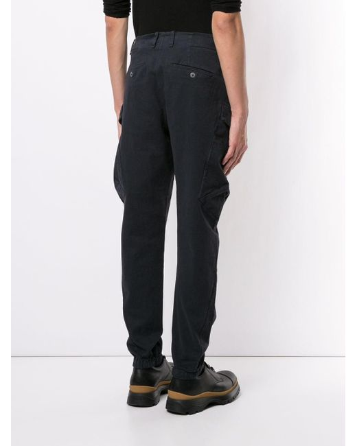 Transit Tapered-Cargohose in Black für Herren