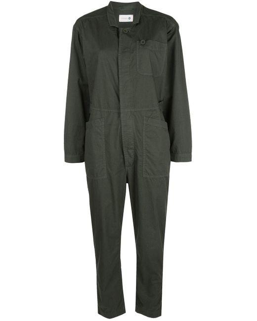 Sundry Green Concealed Fastened Boiler Suit