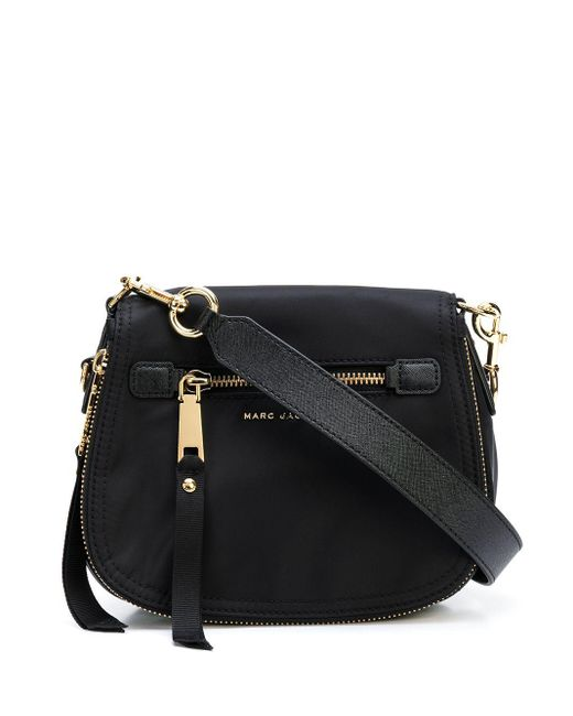 Marc Jacobs Crossbodytas Met Logoplakkaat in het Black