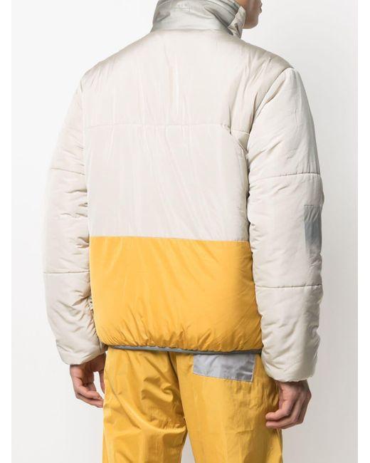 メンズ A_COLD_WALL* カラーブロック パデッドジャケット Black