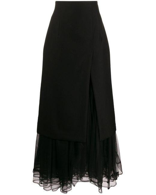 Comme des Garçons ハイウエスト レイヤードスカート Black
