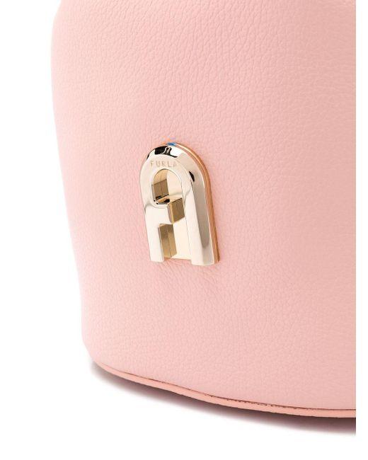 Furla Sleek バケットバッグ Pink