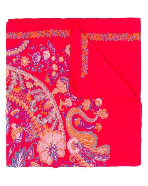 Etro ジャカード スカーフ Multicolor