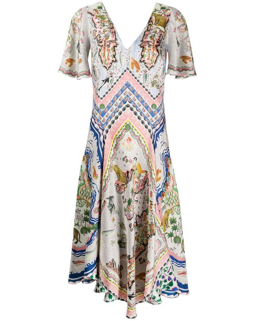 Liberty Sedona Emma スカーフドレス Multicolor