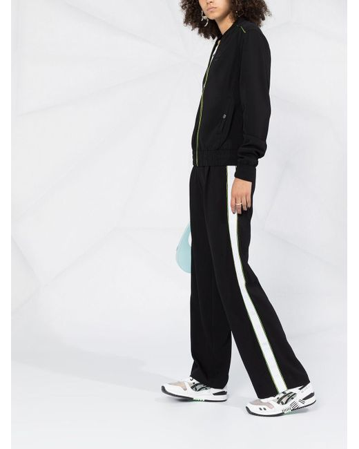 Karl Lagerfeld ロゴ ボンバージャケット Black