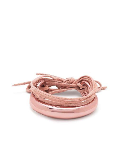 Браслет Hip В Два Оборота Isabel Marant, цвет: Pink