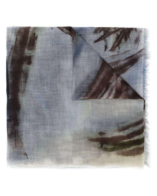 Faliero Sarti アブストラクトパターン スカーフ Multicolor