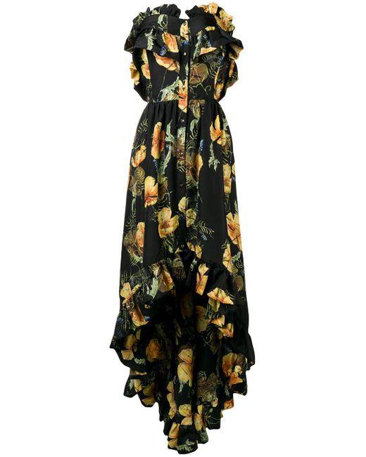 Philipp Plein Full Of Flower ドレス Black