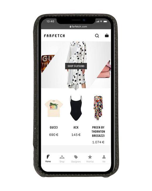 メンズ Ferragamo ロゴ Iphone 11 Pro ケース Black