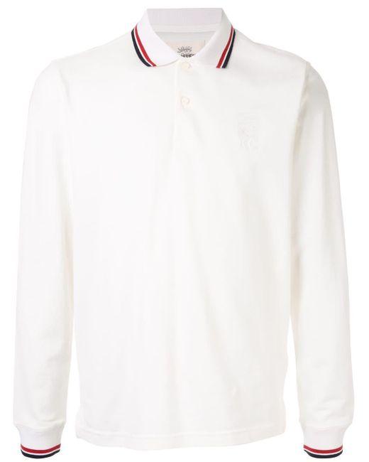 メンズ Kent & Curwen ストライプ ポロシャツ White