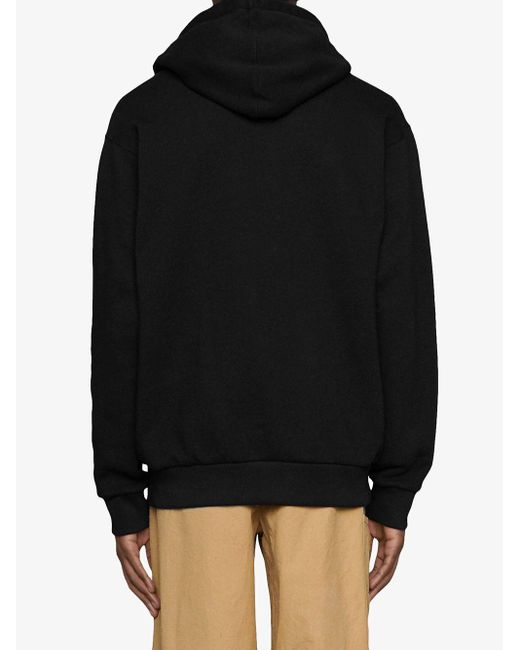 メンズ Gucci グッチ Boutique プリント スウェットシャツ Black