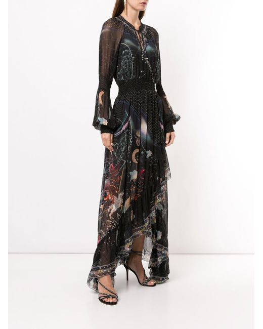 Camilla Midnight Moon ラッフル ラップドレス Black