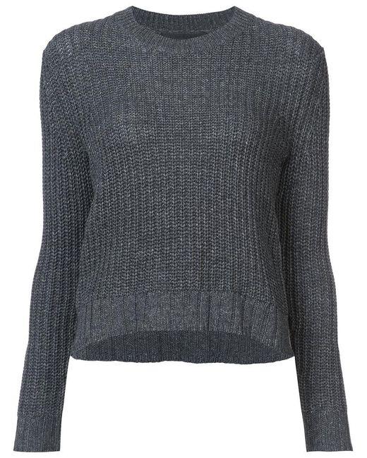 Jenni Kayne | Gray Chunky Knit Sweater | Lyst