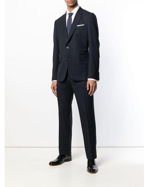 Camicia a manica lunga di Paul Smith in White da Uomo