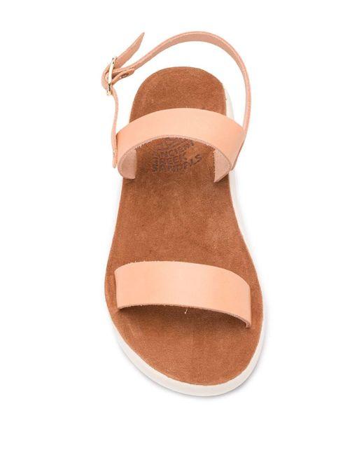 Сандалии Clio С Открытым Носком Ancient Greek Sandals, цвет: Multicolor
