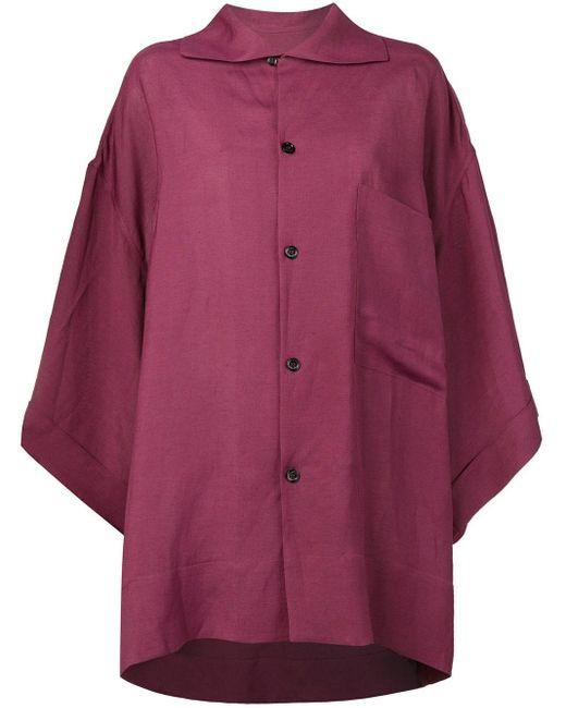 Golden Goose Deluxe Brand オーバーサイズ シャツジャケット Purple