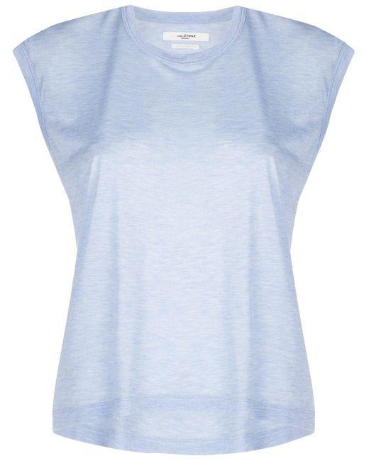 Étoile Isabel Marant Anette Muscle Tシャツ Blue