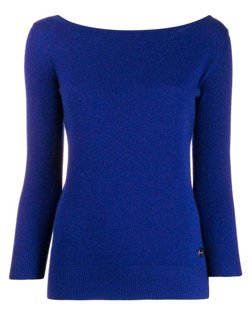 Emilio Pucci カシミア セーター Blue