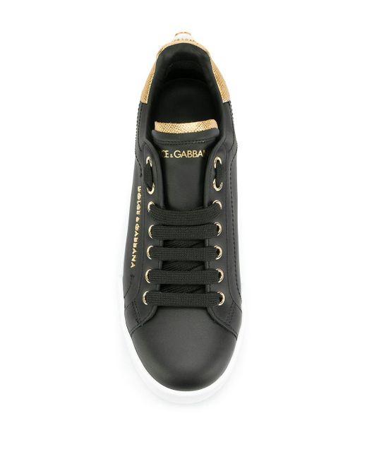 Кроссовки Portofino Dolce & Gabbana, цвет: Black
