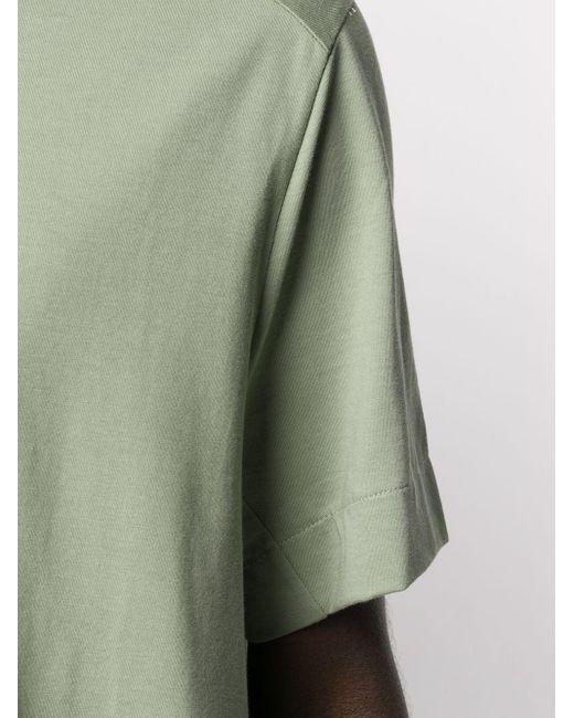 メンズ Joseph ストライプ ロゴ Tシャツ Green