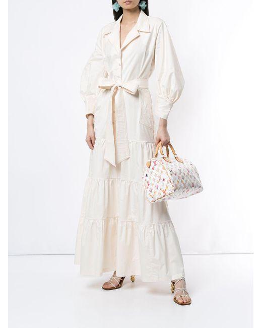 Louis Vuitton プレオウンド スピーディ 30 ハンドバッグ White