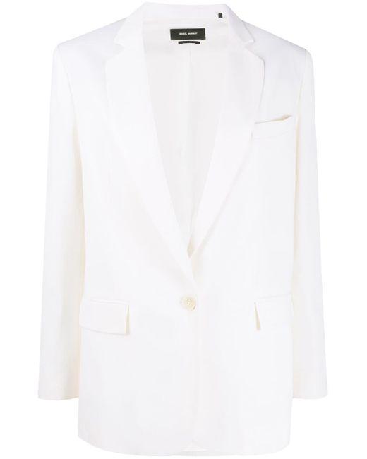 Isabel Marant シングルジャケット White