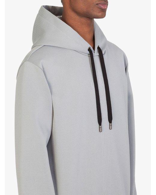 Худи С Капюшоном На Шнурке И Длинными Рукавами Dolce & Gabbana для него, цвет: Gray