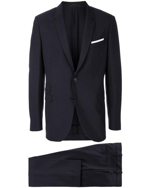 Neil Barrett - Blue Two Piece Suit for Men - Lyst