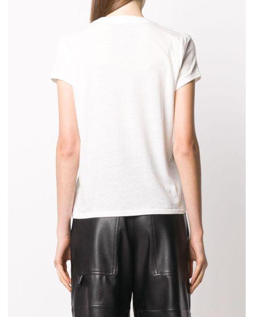 Simon Miller ロゴ Tシャツ White