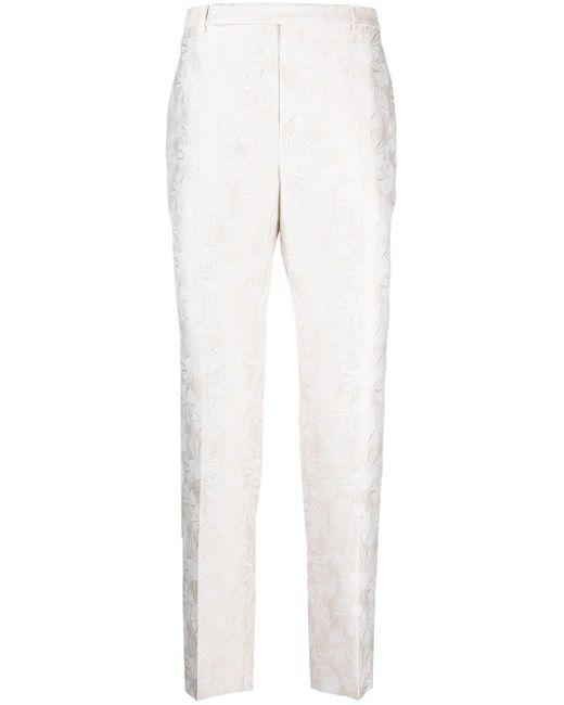メンズ Saint Laurent パターン パンツ White