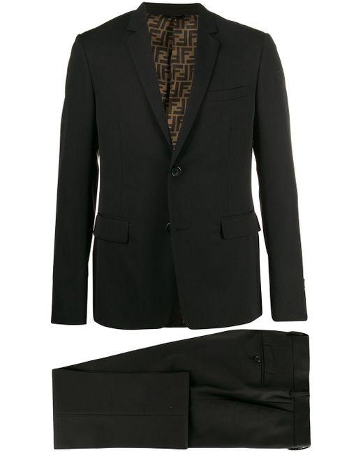 メンズ Fendi ツーピース スーツ Black