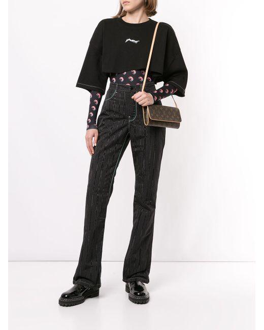 Сумка Через Плечо 2001-го Года С Логотипом Pre-owned Louis Vuitton, цвет: Brown