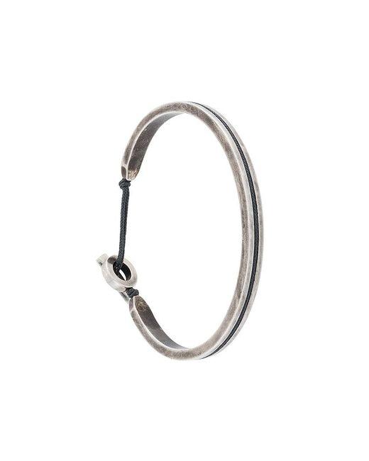 M. Cohen   Gray Twist Clasp Bracelet for Men   Lyst