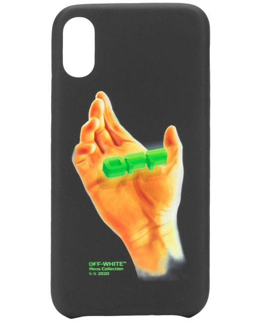メンズ Off-White c/o Virgil Abloh ロゴ Iphone Xs Max ケース Black