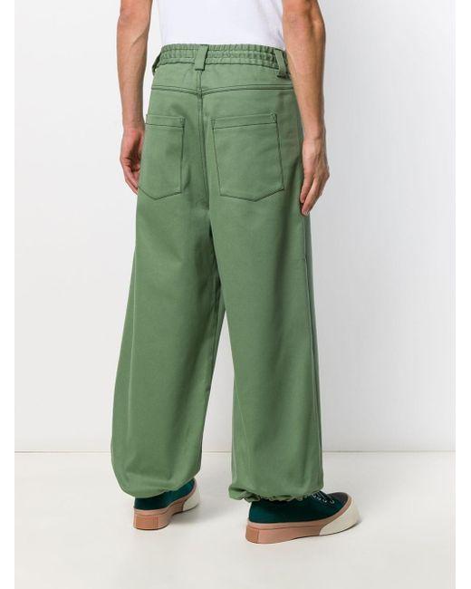 メンズ Sunnei イージーパンツ Green