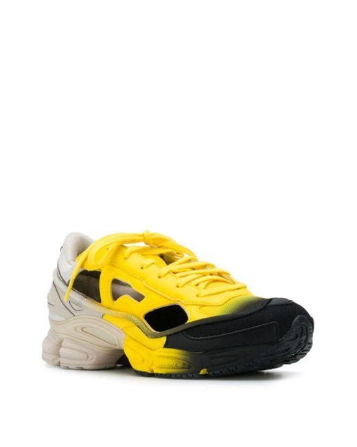メンズ Adidas By Raf Simons Adidas X Raf Simons Replicant Ozweego スニーカー ソックスセット Yellow