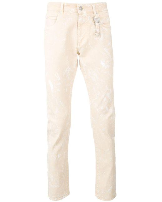 1017 ALYX 9SM Natural Distressed Jeans for men